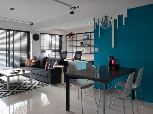 御汤山2室1厅89平米现代风格
