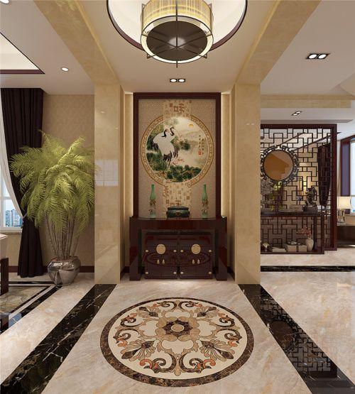 碧桂园290平新中式风格装修设计效果图