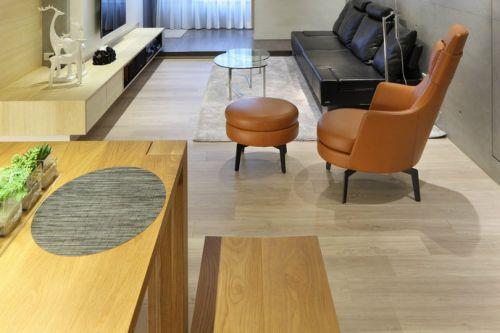 流溪半岛1室1厅110平米简约风格