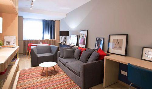 一室一厅木质日式风格