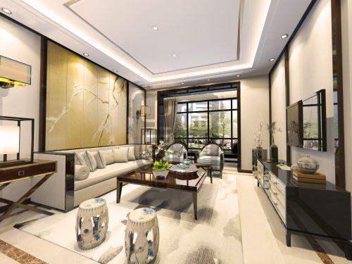 世界名著1室2厅140平米中式风格