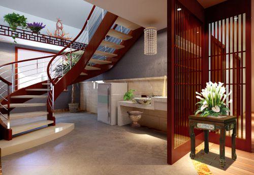 大兴区保利百合110平米中式风格设计案例
