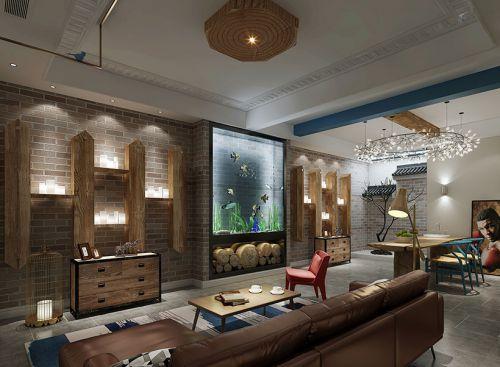 观湖铂庭5室2厅250平米美式风格