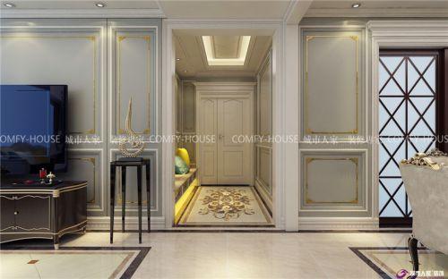 奢·享-济南财富中心175m²欧式风格装修