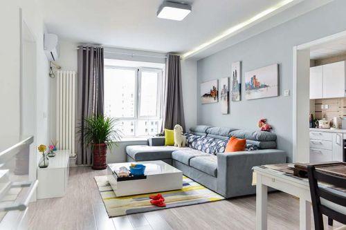 紫芳园61平中式风格设计方案