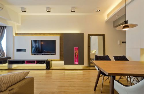 罗兰香谷81平米日式风格设计方案