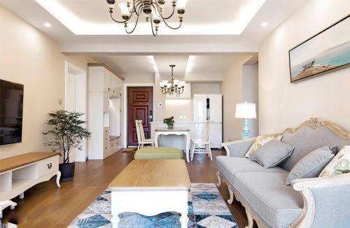 百子湾家园100平米现代简约风格设计方案