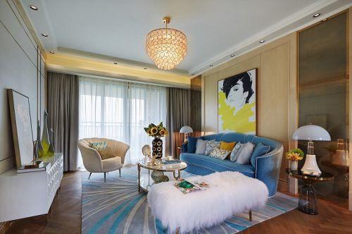 郑州晖达新天地成熟美女打造90平简欧风格居室大写的赞!