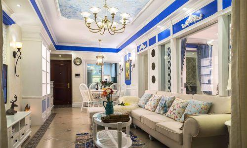 今朝装饰建筑庭院地中海风格