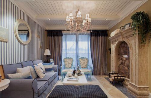 今朝装饰舒适婚房地中海设计98