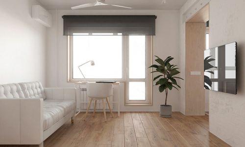 美洲故事30平极简小公寓设计