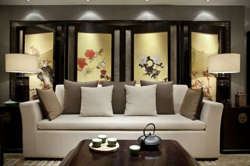 中式永不褪色屏风设计