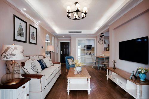 和庄二期3室2厅88平米美式风格