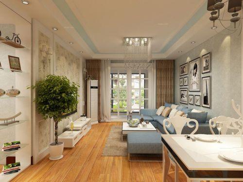 升龙城3室2厅119平米现代风格