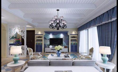 北辰定江洋3室2厅180平米地中海风格