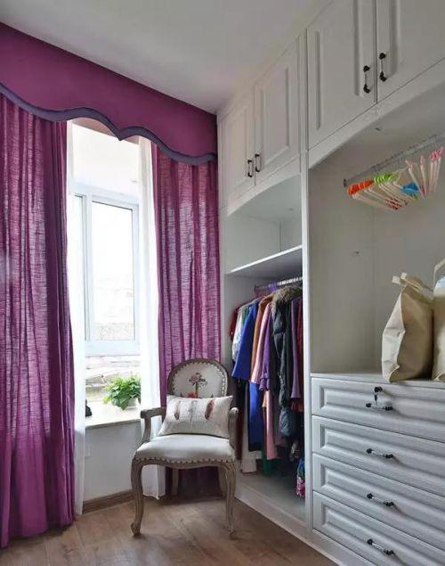 120㎡美式风格的房子,光卧室就占了26㎡