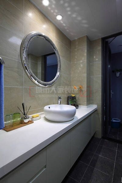 120平米三室两厅9万元打造黑白灰现代简约