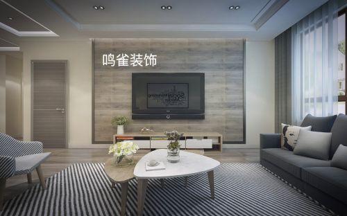 哈尔滨宝宇天邑澜山75米北欧风格装修效果图「鸣雀装饰」