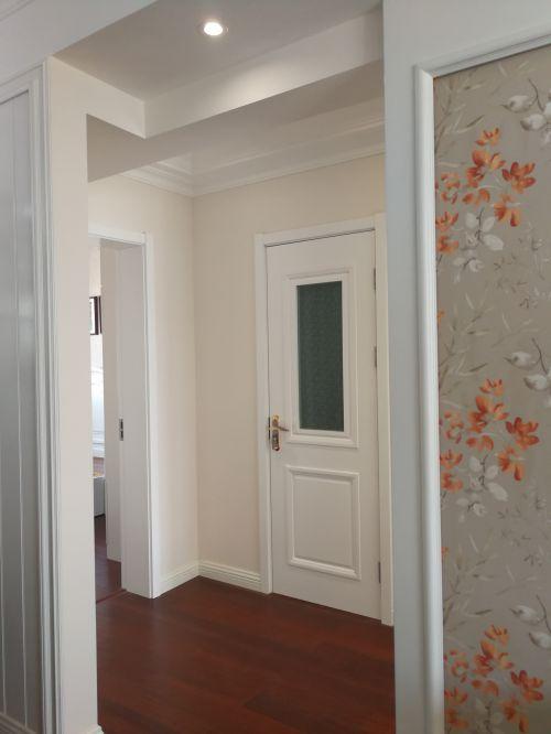 三室两厅现代田园风格装修设计实景照片