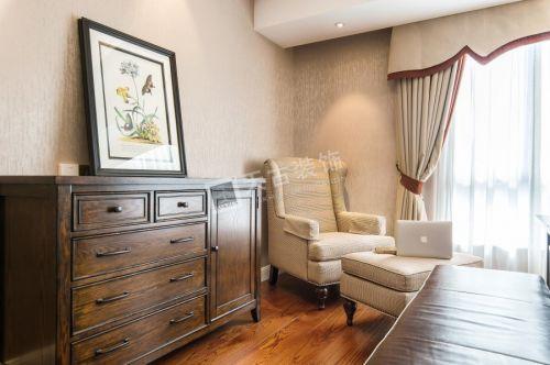 光华安纳溪湖别墅装修设计|天古装饰美式风格案例