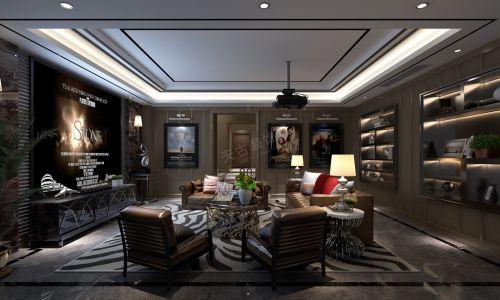 远洋高尔夫国际社区别墅装修设计|港式风格案例