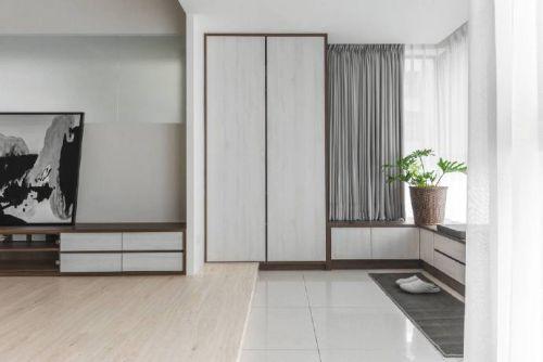 120平米白色系列好看的现代简约风格,让你意想不到