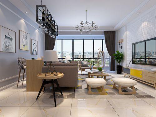 富豪城14万打造145平北欧风格案例