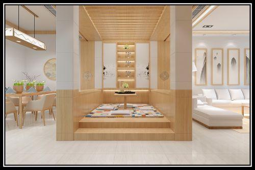 堤亚纳湾3室2厅196平米日式风格