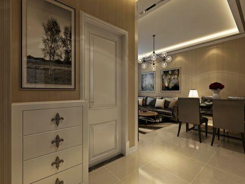 华润装饰哈尔滨道里区海富臻园2室1厅1卫54平米简约设计装