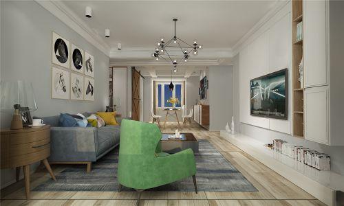 領秀城北歐風格裝修案例,追求簡單和自然的生活方式