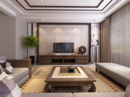 鴻嘉裝飾-三沙源116平新中式風格