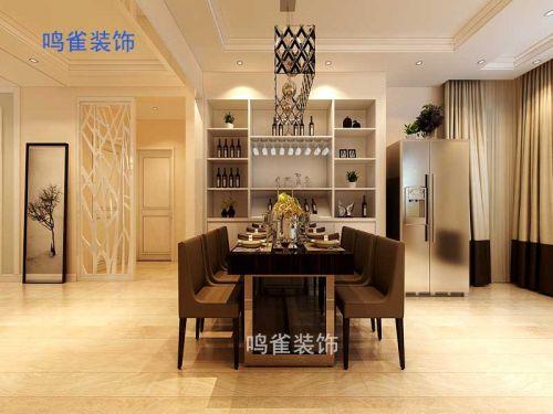 恒大盛和世紀三室兩廳裝修|九維鳴雀裝飾