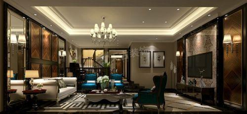 北大資源博雅底躍裝修|天古裝飾設計師新古典風格