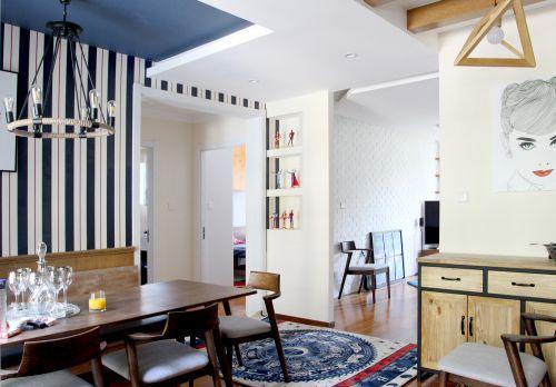 北京正卷公寓丨打破方圆的设计