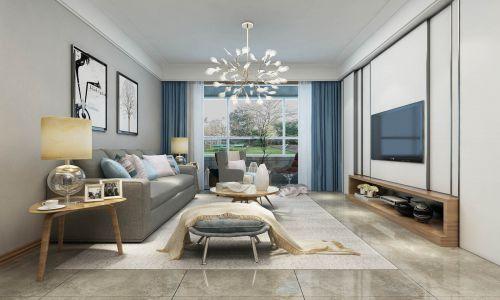 恒大濱河左岸北歐風格裝修效果圖,房子更有層次感空間感