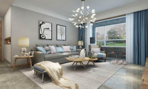 恒大滨河左岸北欧风格装修效果图,房子更有层次感空间感