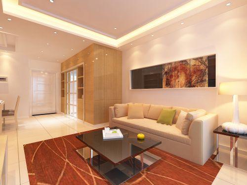依瀾雅居2室1廳78平米現代風格