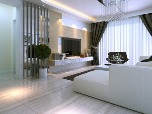 巴黎佳源都市2室1廳120平米現代風格