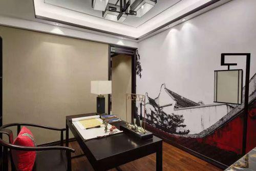 喬治莊園3室1廳96平米中式風格
