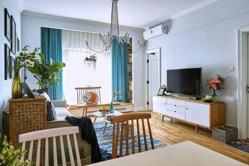 華地學府名都3室1廳118平米清新風格