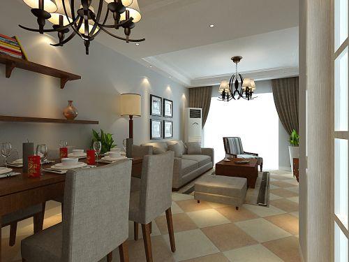 绿地滨湖国际花都3室2厅108平米现代风格