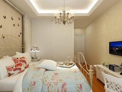 祥源广场2室1厅86平米简约风格