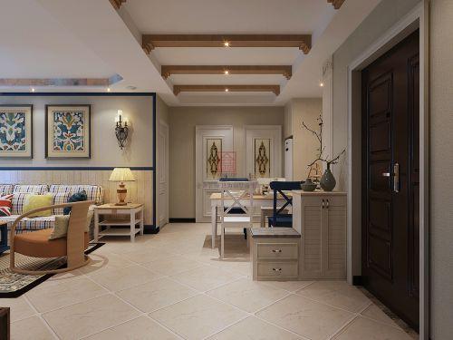 金舍装饰—启锐园—125平—地中海风格装修案例