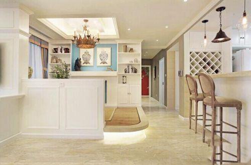 简美风格|91平米三居室装修案例图