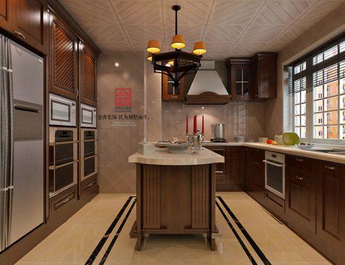 《典雅情怀》国际城200平米—简约欧式风格—金舍装饰