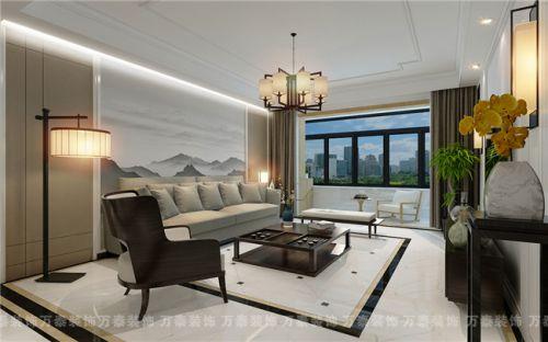 财富中心174平现代中式风格装修案例