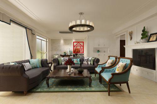《美洲风情》天山熙湖180平米洋房—现代简约风格