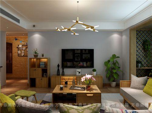 拉菲公馆168平北欧风格设计案例