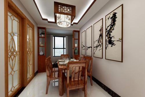 鲁公大宅精心打造香榭丽公馆100平中式风格