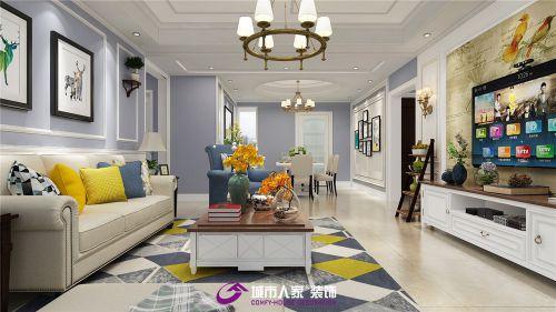 济南拉菲公馆婚房装修,美式风格效果图
